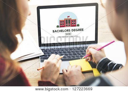 Bachelors Degree Admission School Education Concept