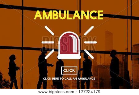 Ambulance Hospital Health Alertness Concept