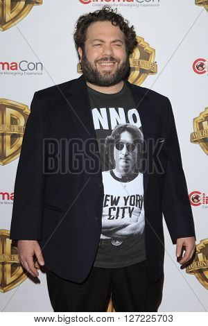LAS VEGAS - APR 12:  Dan Fogler at the Warner Bros. Pictures Presentation at CinemaCon at the Caesars Palace on April 12, 2016 in Las Vegas, CA
