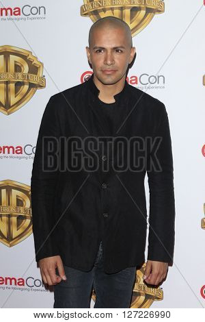 LAS VEGAS - APR 12:  Jay Hernandez at the Warner Bros. Pictures Presentation at CinemaCon at the Caesars Palace on April 12, 2016 in Las Vegas, CA