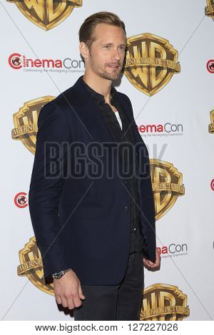 LAS VEGAS - APR 12:  Alexander Skarsgard at the Warner Bros. Pictures Presentation at CinemaCon at the Caesars Palace on April 12, 2016 in Las Vegas, CA