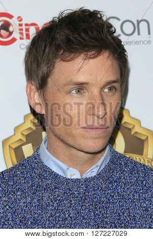LAS VEGAS - APR 12:  Eddie Redmayne at the Warner Bros. Pictures Presentation at CinemaCon at the Caesars Palace on April 12, 2016 in Las Vegas, CA