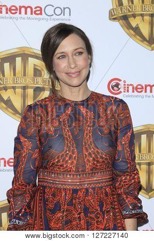 LAS VEGAS - APR 12:  Vera Farmiga at the Warner Bros. Pictures Presentation at CinemaCon at the Caesars Palace on April 12, 2016 in Las Vegas, CA