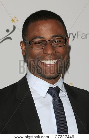LAS VEGAS - APR 20:  Demontray Thompson at the Extraordinary Families Gala at the Beverly Hilton Hotel on April 20, 2016 in Beverly Hills, CA