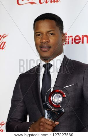 LAS VEGAS - APR 14:  Nate Parker at the CinemaCon Awards Gala at the Caesars Palace on April 14, 2016 in Las Vegas, CA