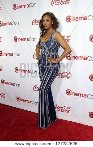 LAS VEGAS - APR 14:  Vivica A Fox at the CinemaCon Awards Gala at the Caesars Palace on April 14, 2016 in Las Vegas, CA