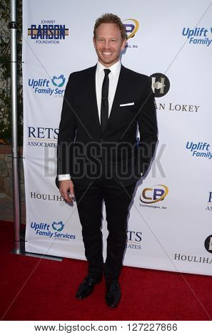 LAS VEGAS - APR 20:  Ian Ziering at the Norma Jean Gala benefitting Hollygrove at the Taglyan Complex on April 20, 2016 in Los Angeles, CA