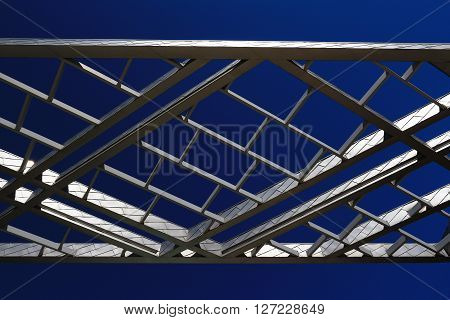 a picture of an exterior metal building canopy