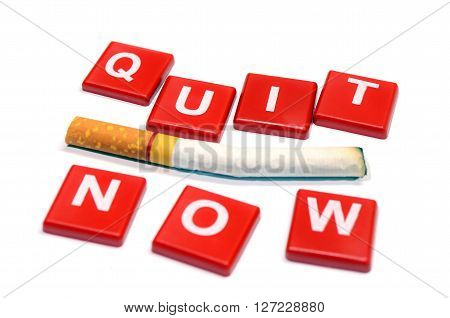 Quit Smoking Now. 31 May World No Tobacco Day.