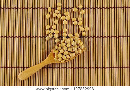 Soy Beans Close Up Background