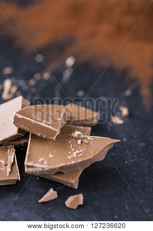 Milk Chocolate (on Slate)