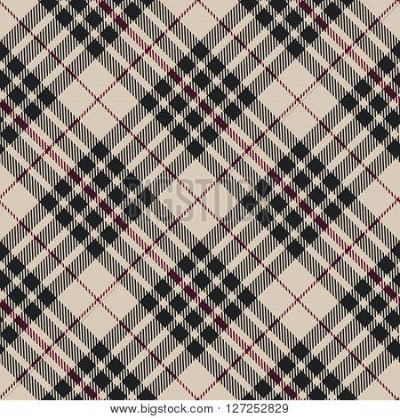 Blackberry tartan seamless diagonal pattern vector illustration