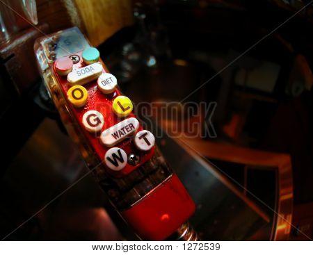 A Rustic Pop Dispenser