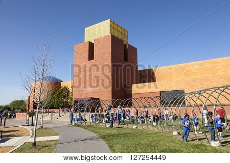 FORT WORTH TX USA - APR 6: The Fort Worth Museum of Science and History. April 6 2016 in Fort Worth Texas USA