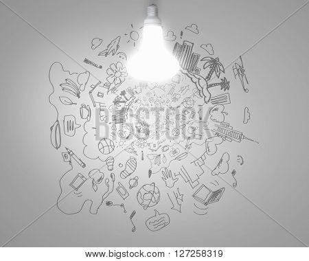 Bright idea for plan