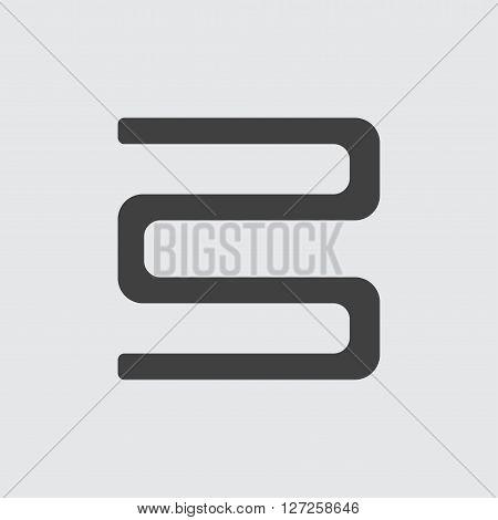 Bookshelf icon illustration isolated vector sign symbol