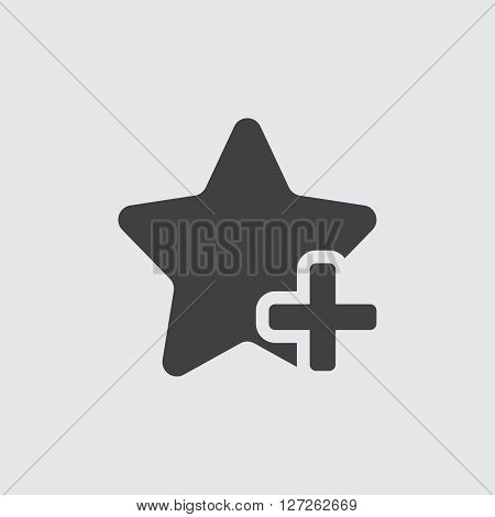Add favorite icon illustration isolated vector sign symbol