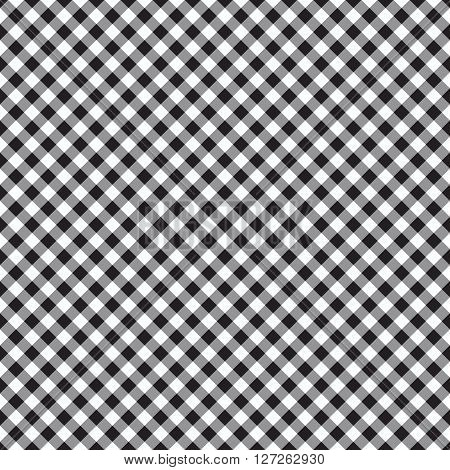 checked plaid fabric seamless pattern vector illustration