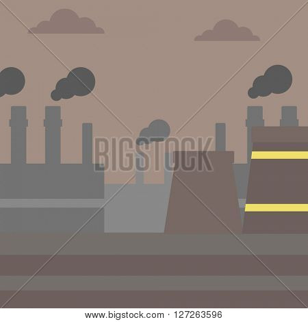 Industrial power plant.