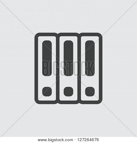 Binder icon illustration isolated vector sign symbol
