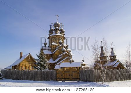 Monastery of All Saints Svyatogorsk Lavra belongs . It was founded at the beginning of the 2000s on the site of the monastery cemetery .