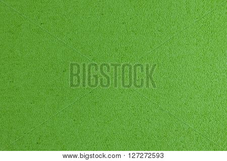 Eva foam ethylene vinyl acetate apple green surface sponge plush background
