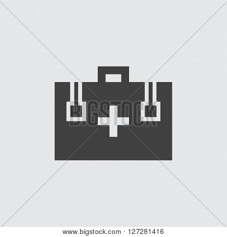 First aid box icon isolated vector sign symbol