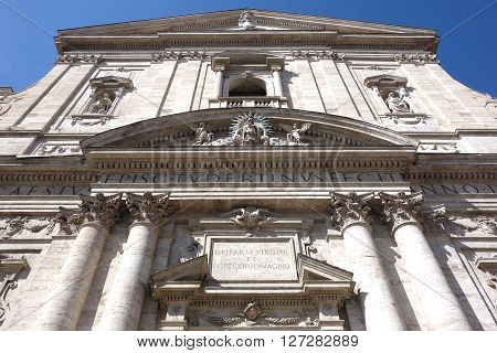 Santa Maria in Vallicella known as the Chiesa Nuova in Rome Italy