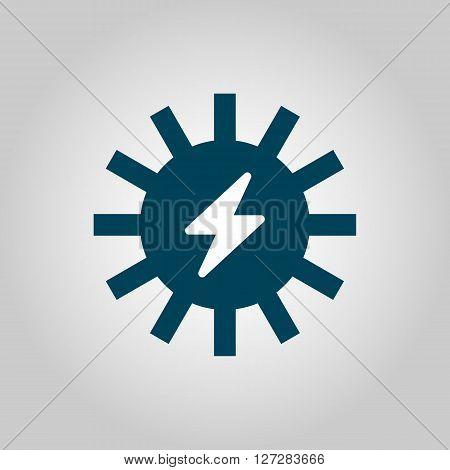 Solar Energy Icon In Vector Format. Premium Quality Solar Energy. Web Graphic Solar Energy Sign On G