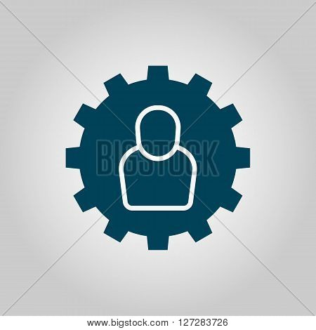 User Settings Icon In Vector Format. Premium Quality User Settings. Web Graphic User Settings Sign O