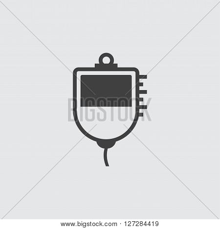 Medical drip icon illustration isolated vector sign symbol