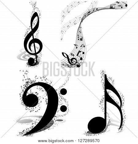 Musical Designs Set