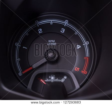 Car Interior Car Speedometer Control