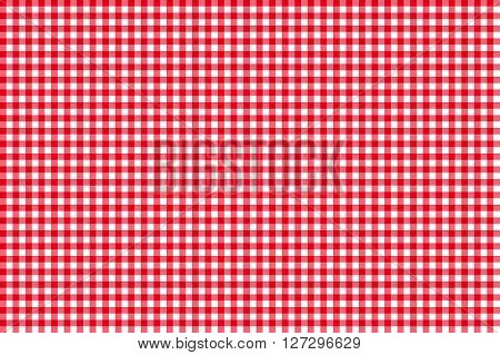 Tablecloth seamless pattern red vector illustration flat design