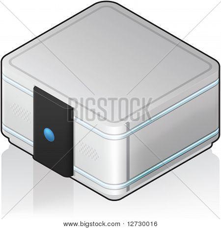 Futuristic Server Unit