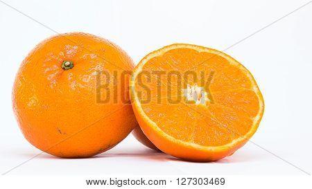 Mandarin oranges, healthy fruit that is high in fiber