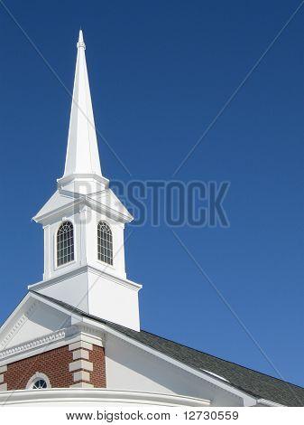 Calvary Apostolic Church Steeple