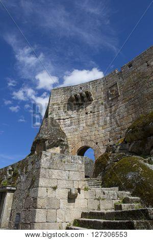 Castle Sortelha, Historic village near Covilha, Portugal