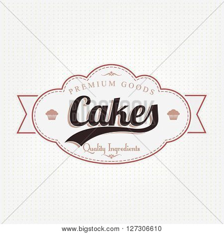 Vintage Bakery Label