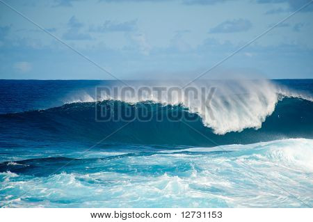 Rough Seas At La Fajana, Barlevento, La Palma, Canary Islands, Spain