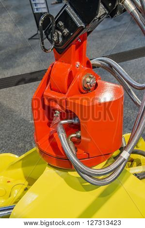 Hydraulic system for crane used for building pressure.
