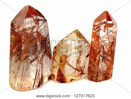 Rutilated quartz is said to slow down the aging process and is said to be a strong healer
