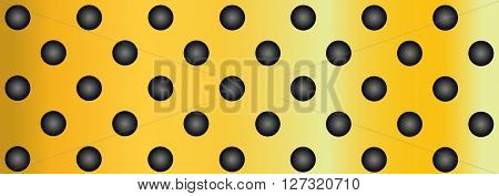 High resolution concept conceptual yellow metal stainless steel aluminum perforated pattern texture mesh background