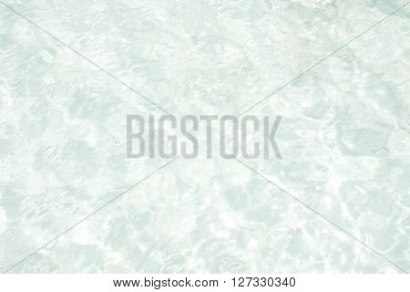 Clear sea water background