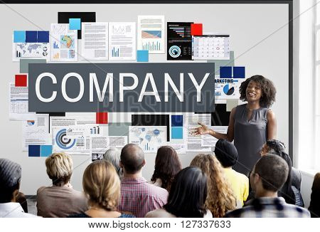 Company Management Structure Team Concept