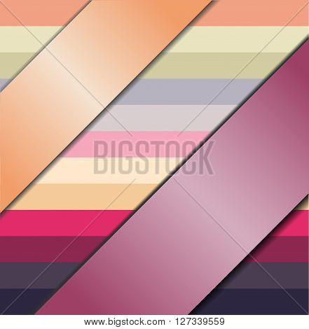 Colorful background with ribbons. Illustration 10 version