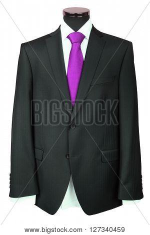coat under the white background