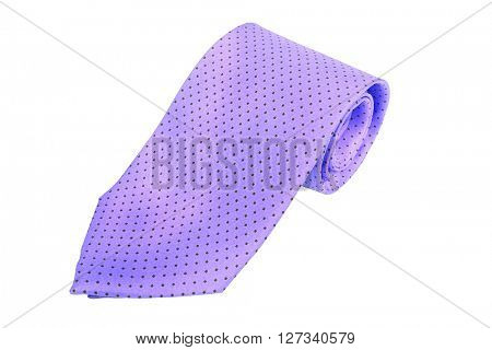 tie isolated under the white background