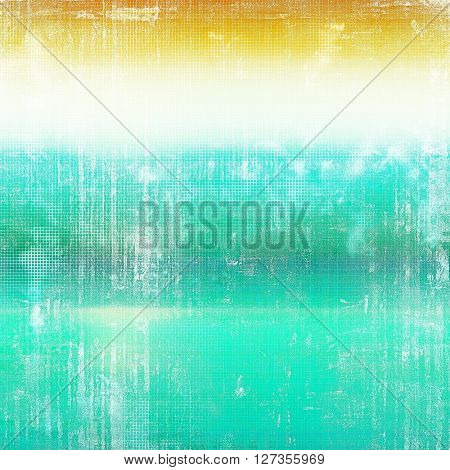 Grunge background or vintage texture in traditional retro style. With different color patterns: yellow (beige); green; blue; cyan; white