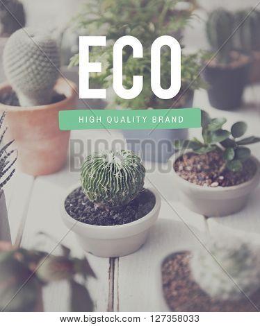 Eco Ecology Environmentally Friendly Hobby Concept